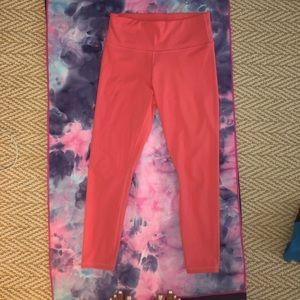 Athleta elation coral leggings